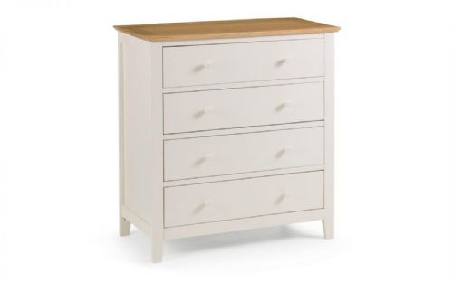 Tremezzo 4 Drawer Chest - Two Tone